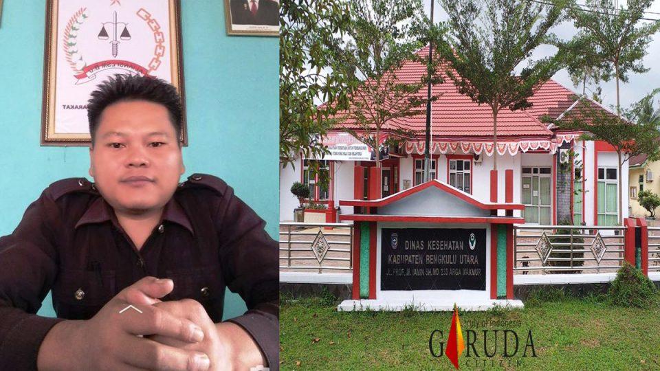KPK Diminta Usut Dugaan Korupsi di Dinkes Bengkulu Utara