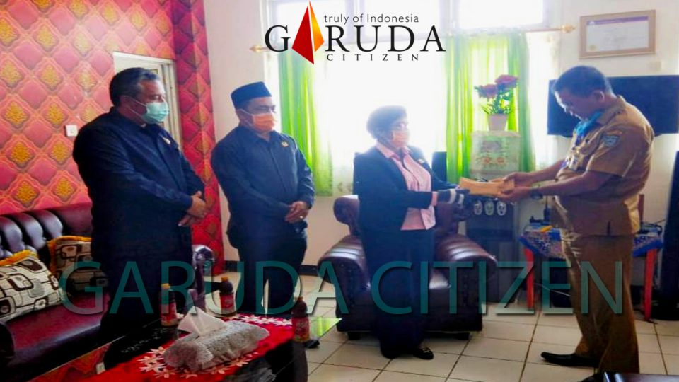 DPRD BU Salurkan Bantuan Pencegahan Corona ke RSUD Arga Makmur