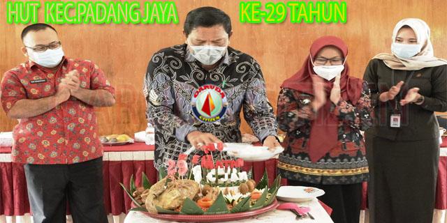 HUT Padang Jaya ke 29, Ir.H.Mian Sosialiasi Prioritas Dana Desa TA 2021